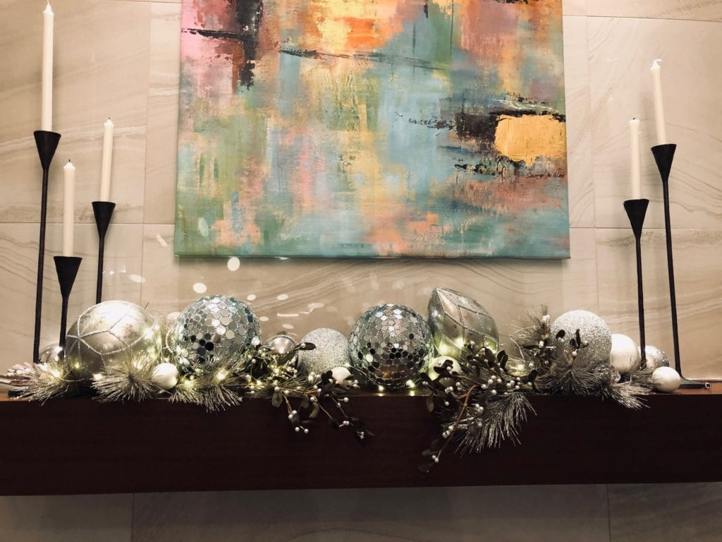 Decorate your mantle one of 5 ways to make your holidays at home feel cozier