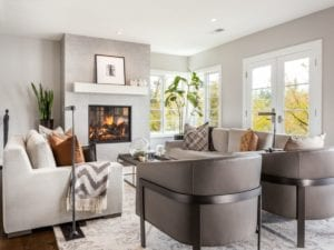 Image of a remodeled family room